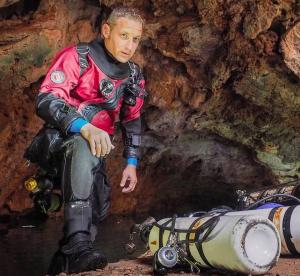Denis Kozlov, a Cave Diving Instructor and the Head of DiveResort.ru Dive Center in Spain, to Make a Presentation at Moscow Dive Show 2017