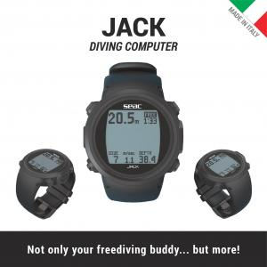 JACK – The Latest Underwater Computer from SEAC at Moscow Dive Show 2017