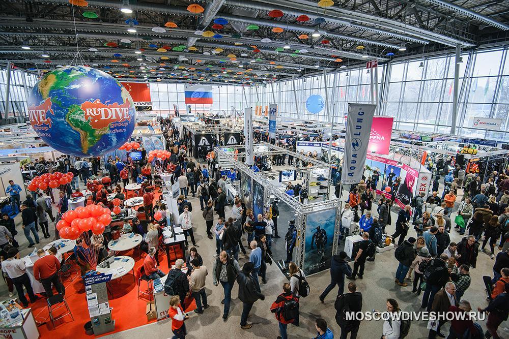 выставка moscow dive show 2020